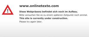 Generalüberholung bei Onlinetexte.com